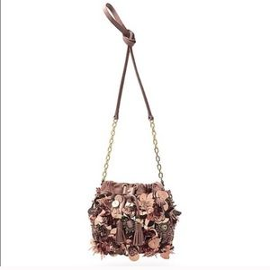 Tory Burch Flower Cluster Mini Bag